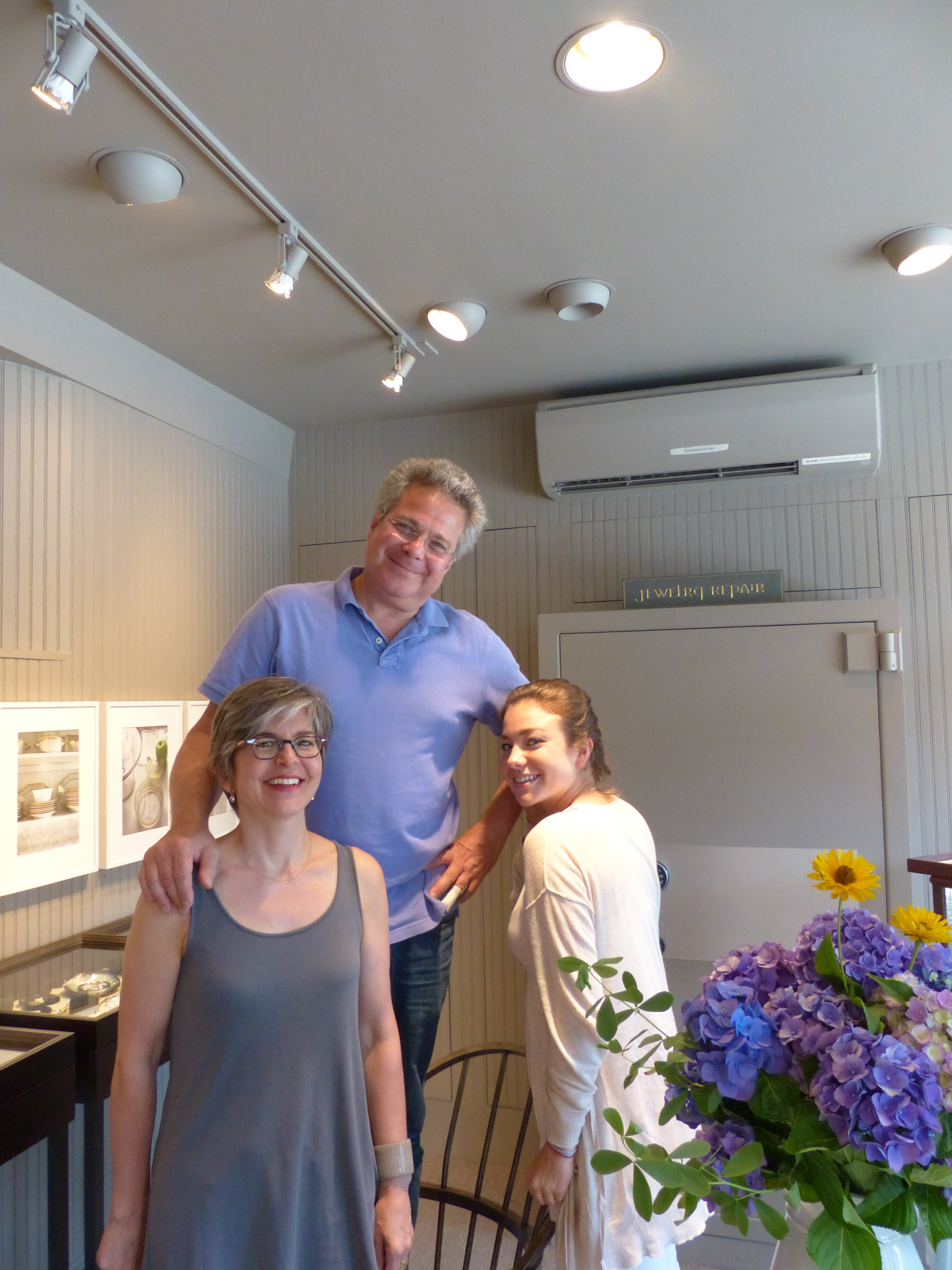 Elaine, Charles and their delightful daughter Lucy