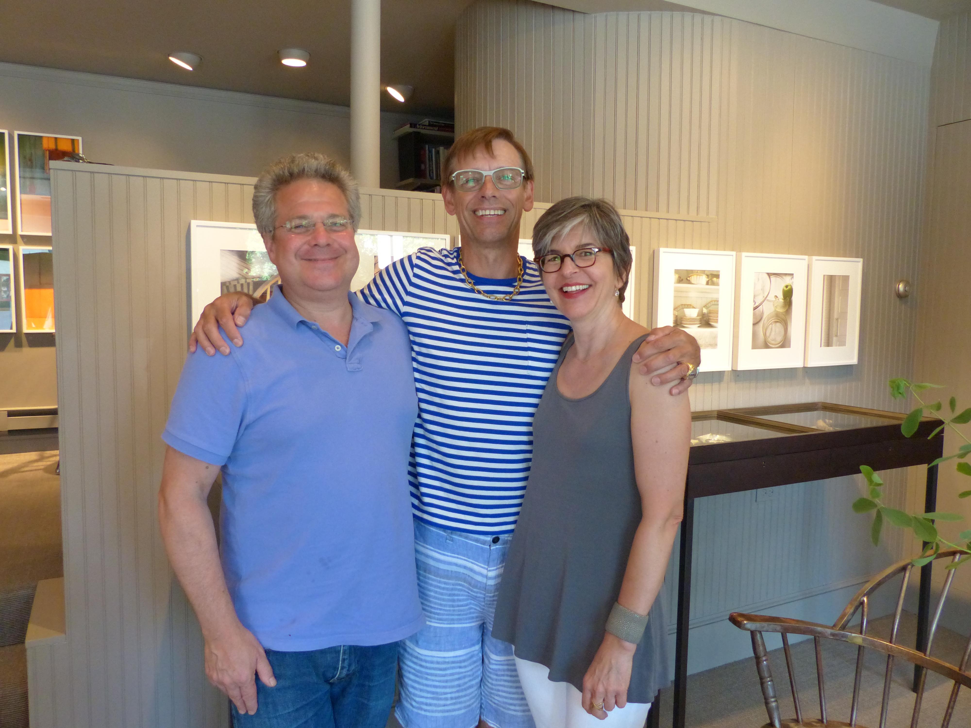 Elaine, Charles and I